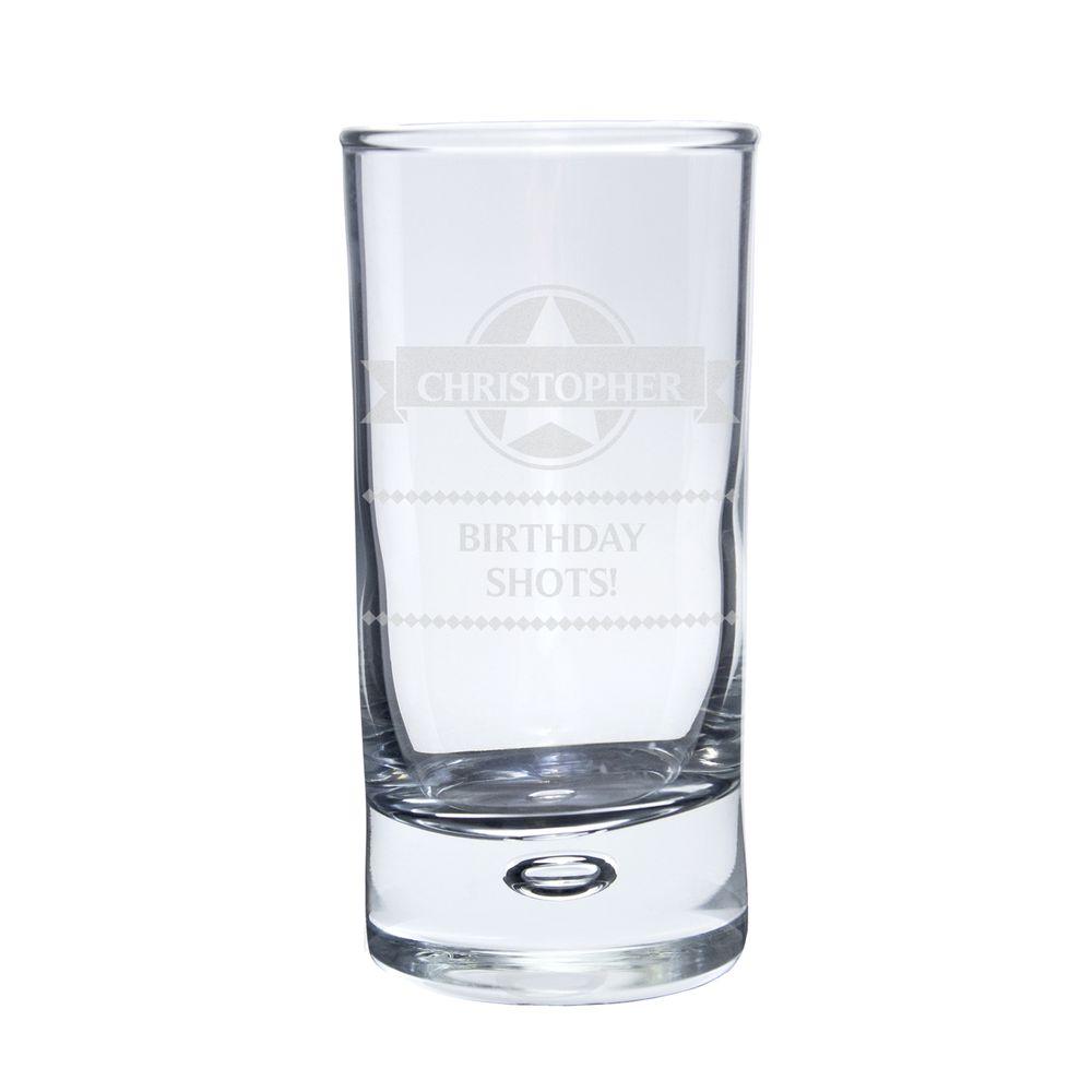 Personalised Premium Shot Glass