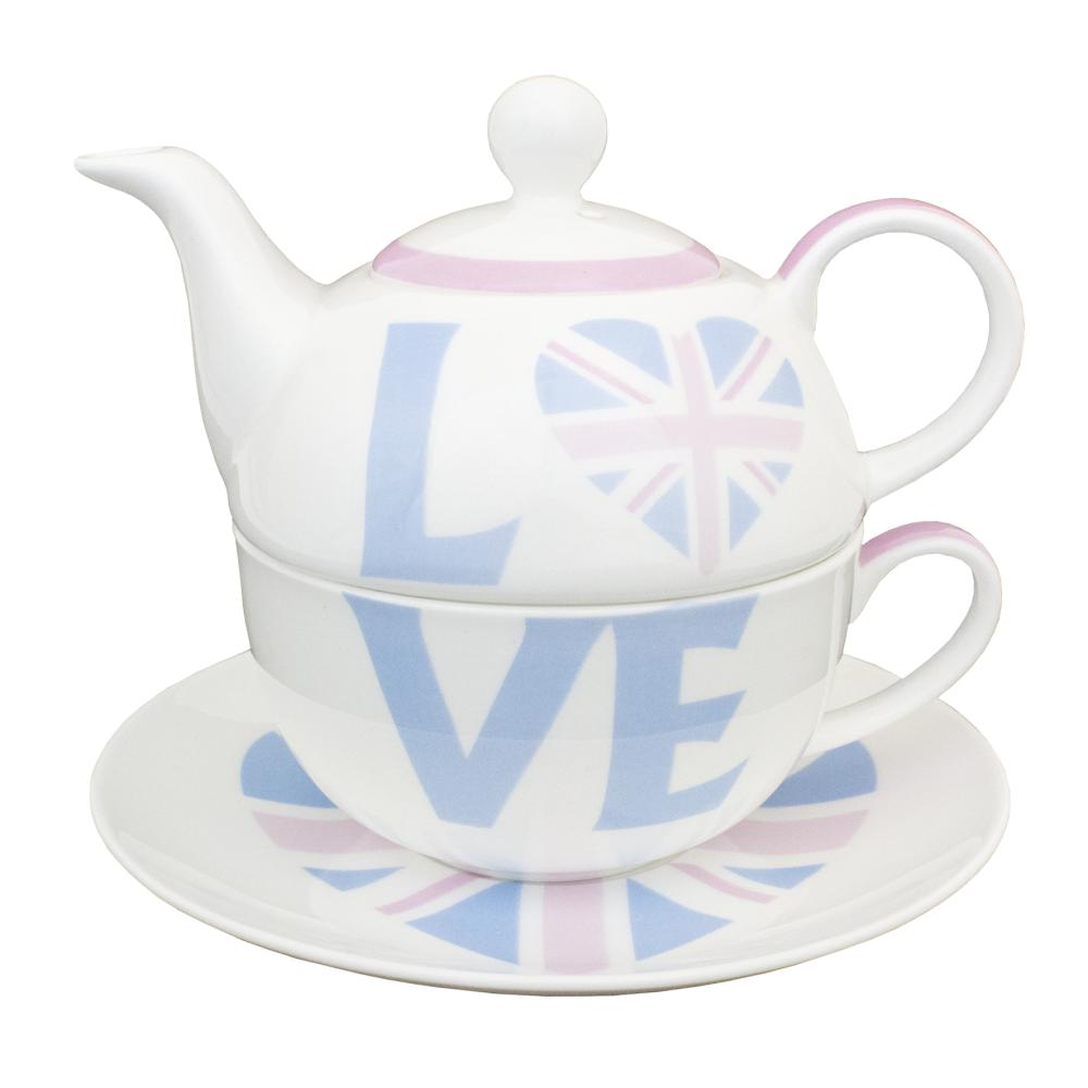 Love British Teapot For One