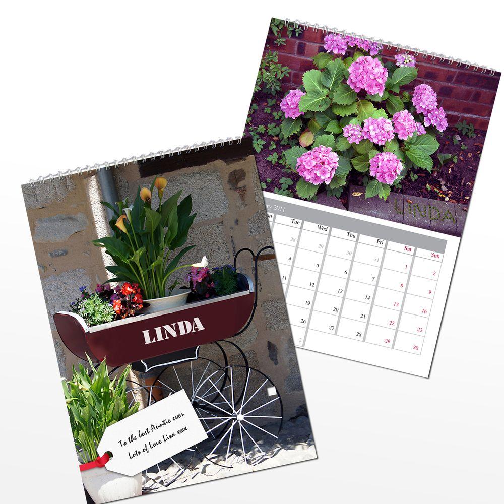 Personalised Gardening Calendar