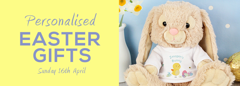 Easter present ideas personalised easter gifts there are plenty of easter present ideas you could opt for instead and they may well last a lot longer than your average easter egg negle Images