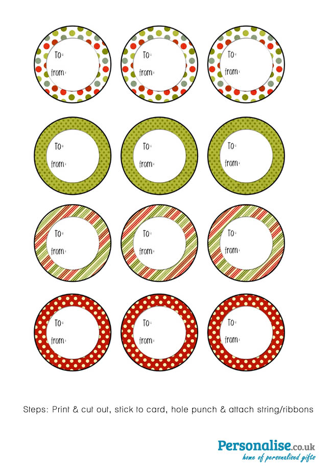 Free christmas printable tags click here to download the round christmas tags pdf negle Choice Image