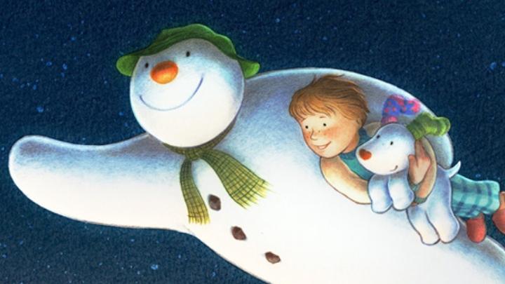 The Snowman & Snow Dog