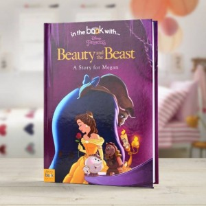 Personalised Disney Beauty & the Beast Story Book - Hardback