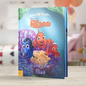 Personalised Disney Finding Nimo Story Book - Hardback