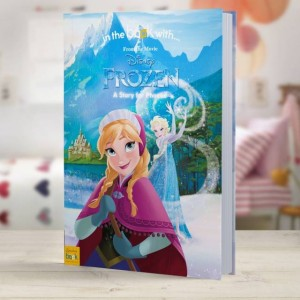 Personalised Disney Frozen Story Book - Hardback