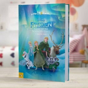Personalised Disney Frozen Northern Lights Story Book - Hardback