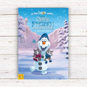 Personalised Disney Olaf's Frozen Adventure Story Book - Softback