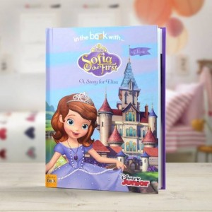 Personalised Disney Jr Sofia the First Story Book - Hardback