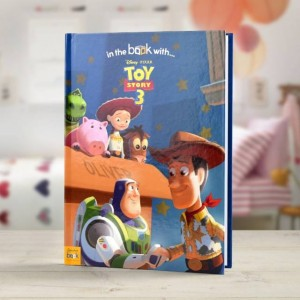 Personalised Toy Story 3 Story Book - Hardback