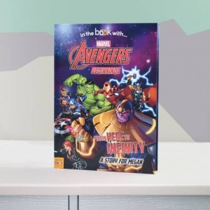 Avengers Beginnings from Here to Infinity Personalised Marvel Story Book - Hardback