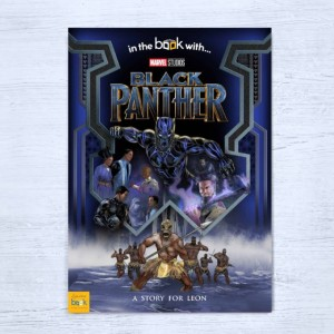 Black Panther Personalised Marvel Story Book - Softback