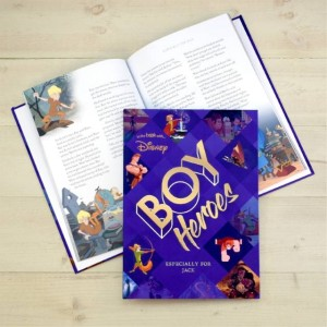 Personalised Disney Heroes Collection Book