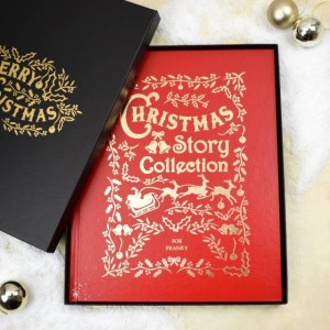 Personalised Christmas Story Deluxe Collection Book