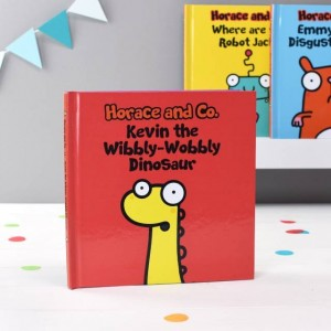 Personalised Flossy and Jim The Wibbly-Wobbly Dinosaur - Softback