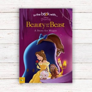 Personalised Disney Beauty & the Beast Story Book - Softback