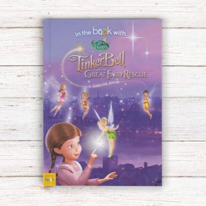 Personalised Disney Fairies Story Book - Softback