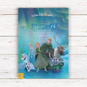 Personalised Disney Frozen Northern Lights Story Book - Softback