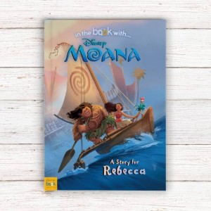 Personalised Disney Moana Story Book - Softback