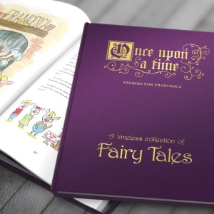 Personalised Fairy Tales Collection Book - Deluxe