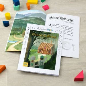 Signature Favourite Personalised Hansel & Gretel Story Book