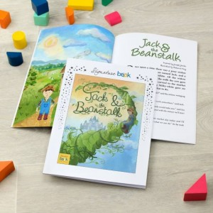 Signature Favourite Personalised Jack & The Beanstalk Story Book
