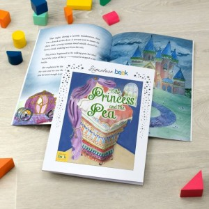 Signature Favourite Personalised Princess and Pea Story Book