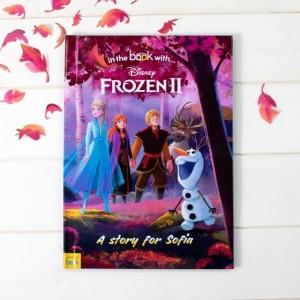 Personalised Disney Frozen 2 Book - Hardback