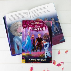 Personalised Disney Frozen 2 Book - Softback