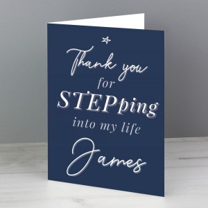 Personalised Stepdad Card