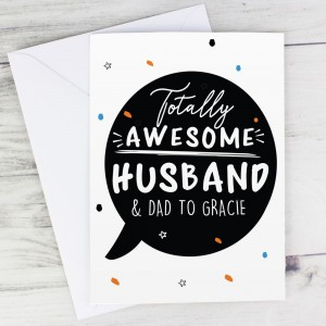 Personalised Totally Awesome Card