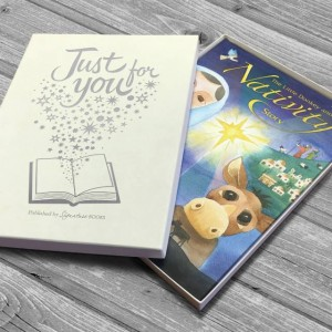 Personalised The Little Donkey and the Nativity Story - Softback