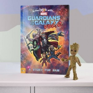 Guardians of the Galaxy 2 Personalised Marvel Story Book - Hardback