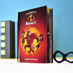 Personalised Disney Incredibles 2 Story Book - Hardback