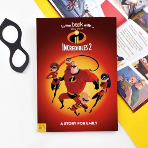 Personalised Disney Incredibles 2 Story Book - Softback