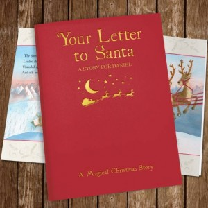 Your Letter to Santa Personalised Book - Embossed Classic Cloth