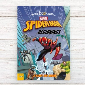 Spider-Man Beginnings Personalised Marvel Story Book - Softback