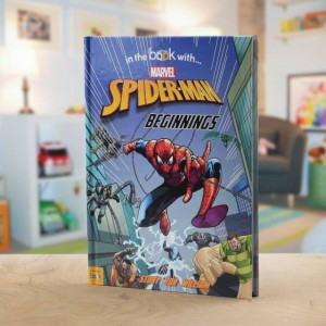 Spider-Man Beginnings Personalised Marvel Story Book - Hardback