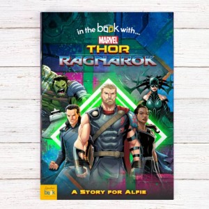Thor Ragnarok Personalised Marvel Story Book - Softback