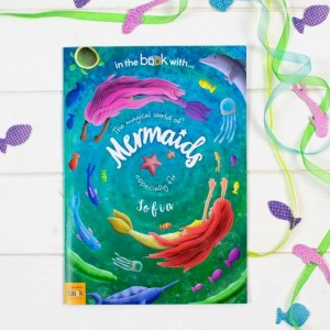 Personalised Mermaid Story Book - Softback