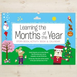 Personalised A4 Months of the Year Activity Book