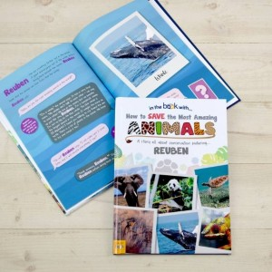 Personalised How to save The Most Amazing Animal - Softback