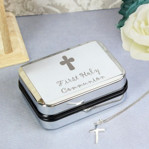1st Holy Communion Cross Necklace