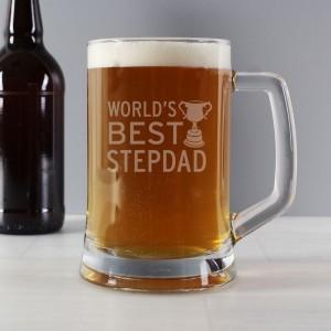 World's Best Step Dad Stern Tankard