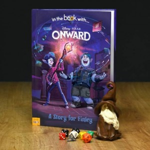 Personalised Disney Onward Storybook - Hardback