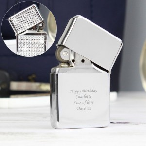 Personalised Diamante Lighter