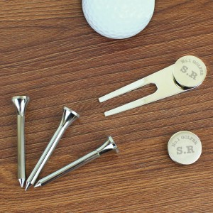 Personalised No.1 Golfer Golf Set