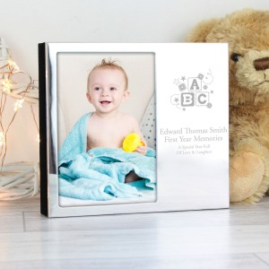 Personalised ABC 4x6 Photo Frame Album