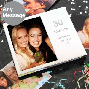 Personalised Big Numbers Frame Album 4x6
