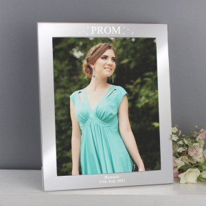 Personalised Prom Night 8x10 Silver Photo Frame