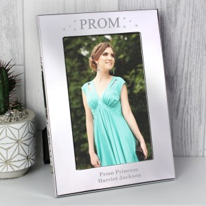 Personalised Prom Night 4x6 Silver Photo Frame